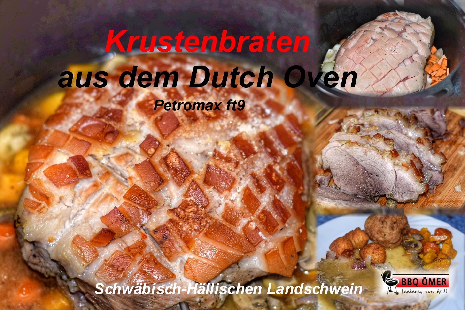 Schweinekrustenbraten Sous Vide