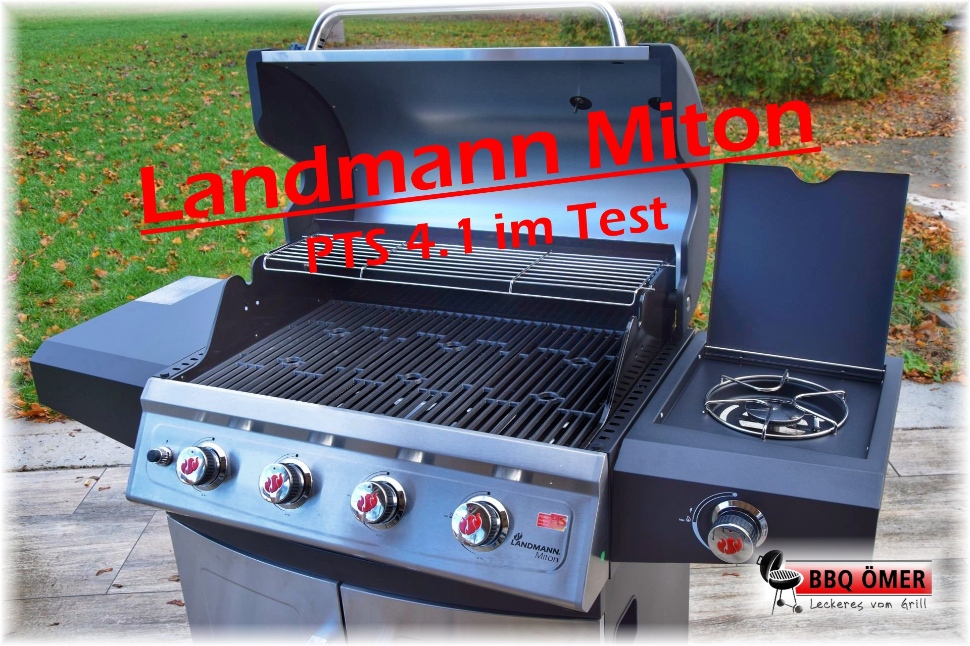 Landmann Gasgrill Zünder : Landmann miton pts 4.1 im test the american way bbq Ömer
